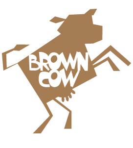 Brown Cow Creative Design Retina Logo