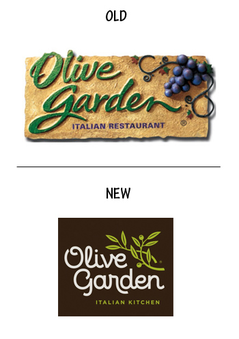 Olive Garden Brown Cow Creative Design